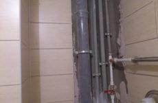 Как сделать съемный короб в туалете?