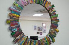 Красивая рамка для зеркала своими руками