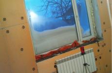 Внутреннее утепление стен в квартире
