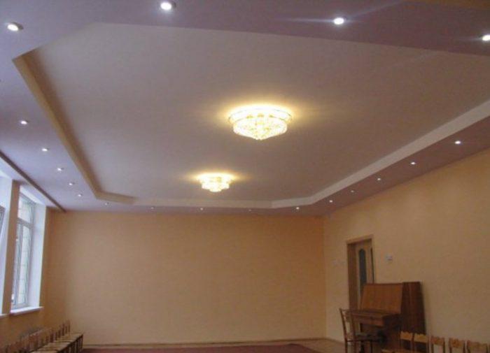 Виды профилей для двухуровневых потолков | 505x700