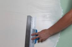 Как правильно шпаклевать гипсокартонные стены и потолки