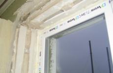 Как сделать откосы на окнах из гипсокартона