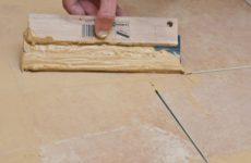 Затирка швов керамической плитки
