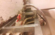 Как сделать короб из гипсокартона в туалете в данной ситуации?