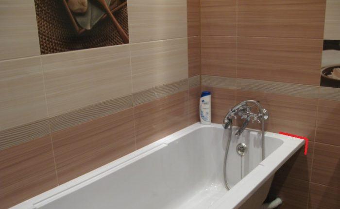 Бортик ванной