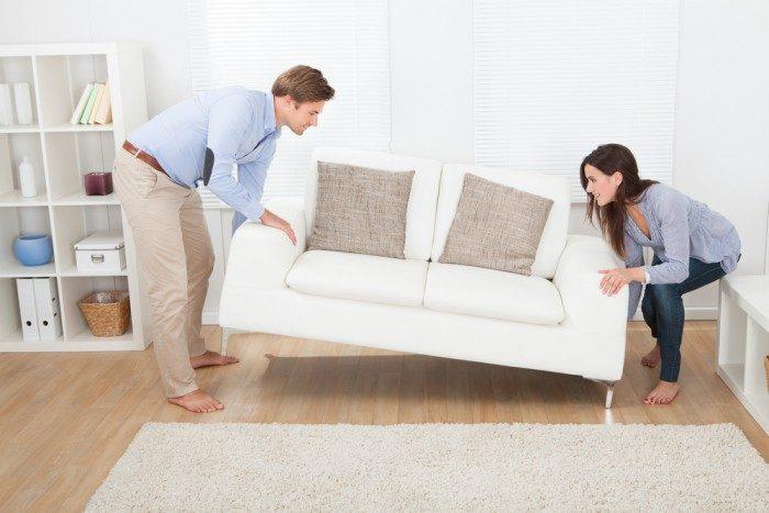 Двигаем мебель