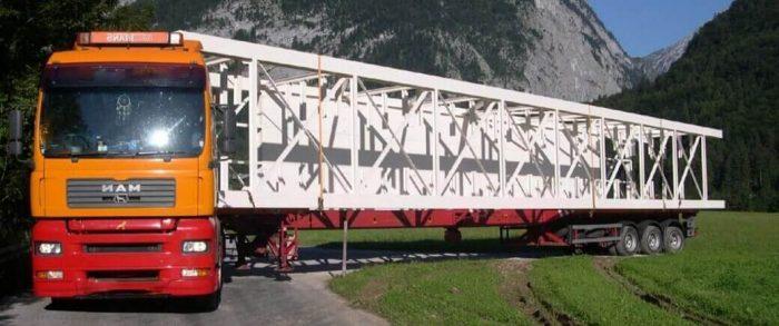 грузоперевозки металлоконструкций