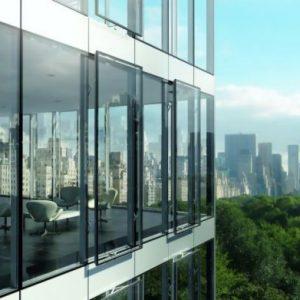 Брендированные алюминиевые фасады