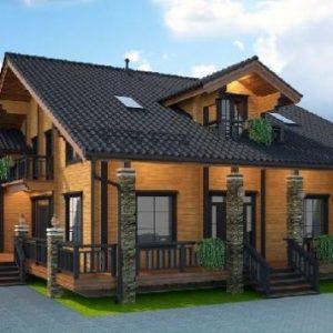 Почему строительство домов из клееного бруса так привлекательно