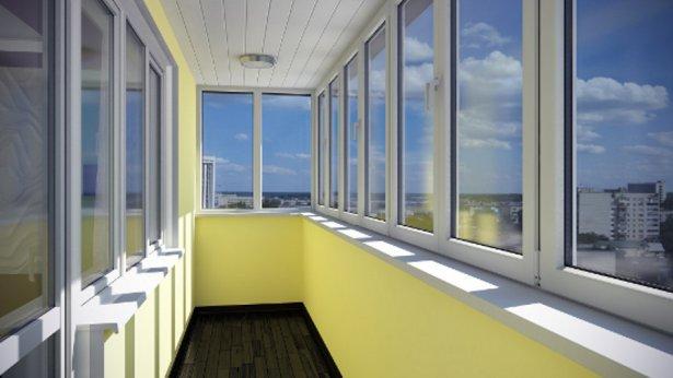 Преимущества остекления балкона пластиковыми окнами
