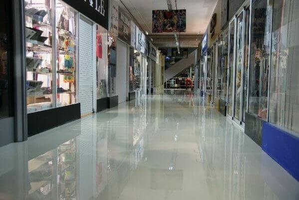 Полимерные покрытия для бетонного пола