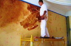 Отделочные работы: как наносить венецианскую штукатурку