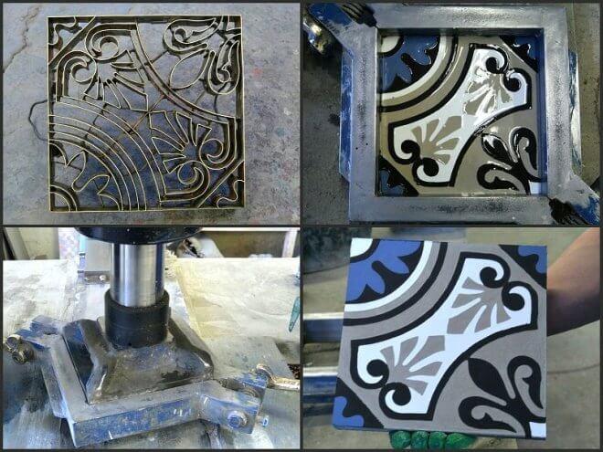 Цементная плитка ручной работы от Luxemix