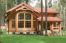 Остекление деревянного дома