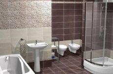 Керамическая плитка — наилучший материал для облицовки ванной комнаты