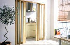 Складные двери гармошка