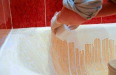 Восстановление эмалевого покрытия ванной