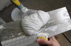 Шпатлевка полимерная: свойства и нанесение