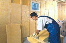 Внутренняя теплоизоляция стен