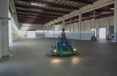 Как происходит шлифовка бетонного пола