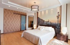 Натяжные потолки в спальню как элемент дизайна