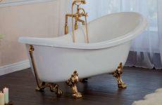 Виды современных ванн Kvadratura