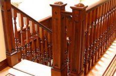 Балясины из дерева для лестницы