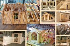 Основные этапы строительства домов из клееного бруса