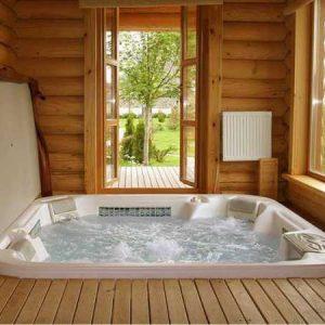 Варианты бассейнов в маленькой бане