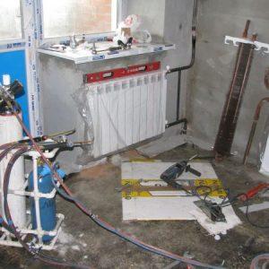 Основные этапы монтажа отопления
