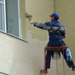 Покраска и ремонт фасада