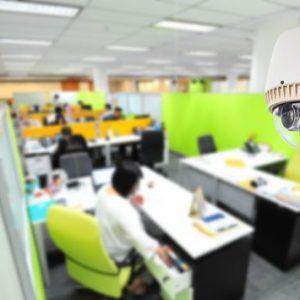 Системы видеонаблюдения в офисе для повышения безопасности и установки контроля за сотрудниками