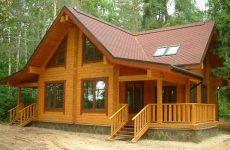 Деревянные дома из срубов