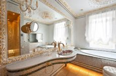 Что делает ванную комнату элитной