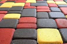 Тротуарная плитка – материал для украшения участка