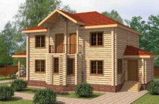 Двухэтажные деревянные дома – особенности проектов, преимущества