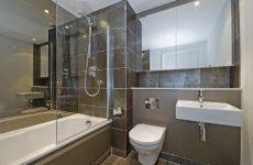 Качественный ремонт туалета и ванной в современном стиле