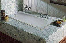 Чугунные ванны Roca Continental