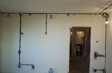 Как правильно заменить проводку в квартире?