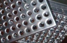 Промышленная металлическая плитка для пола