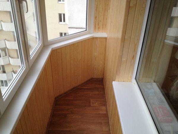 Оздоблення та утеплення балконів і лоджій