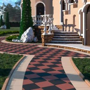 Как изготавливают тротуарную плитку?