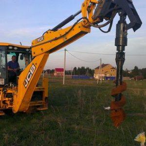 Ямобур в аренду для проведения строительных работ