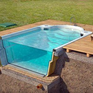 Конструкция композитных бассейнов и их преимущества использования