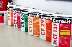 Декоративная штукатурка и краска Ceresit