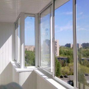Алюминиевое остекление балконов в Екатеринбурге