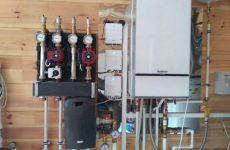 Монтаж настенных газовых котлов