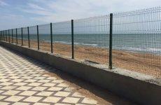 Высококачественный забор из прутьев