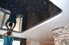 Установка натяжных потолков в Сочи под ключ