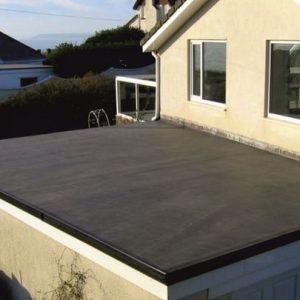 Конструкция бесчердачных (плоских) крыш